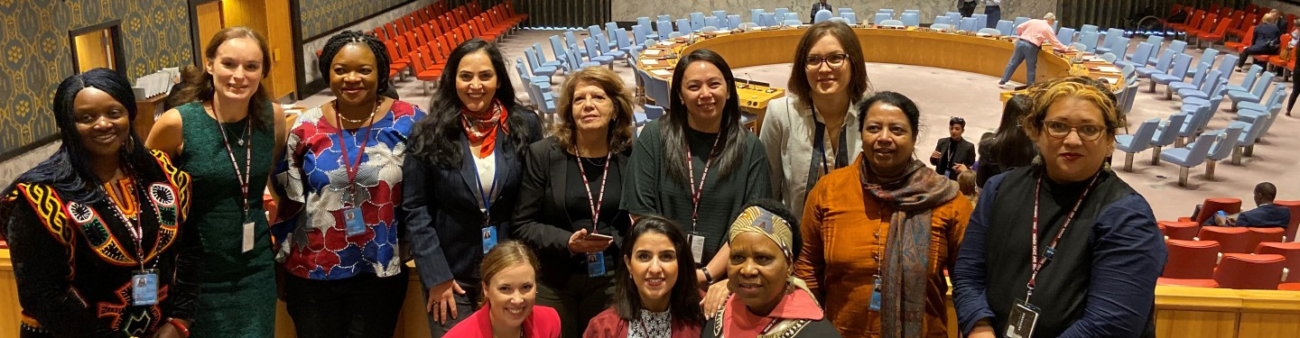 GPPAC Gender Experts at UNSC